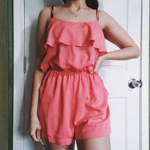 Pretty Pink Romper